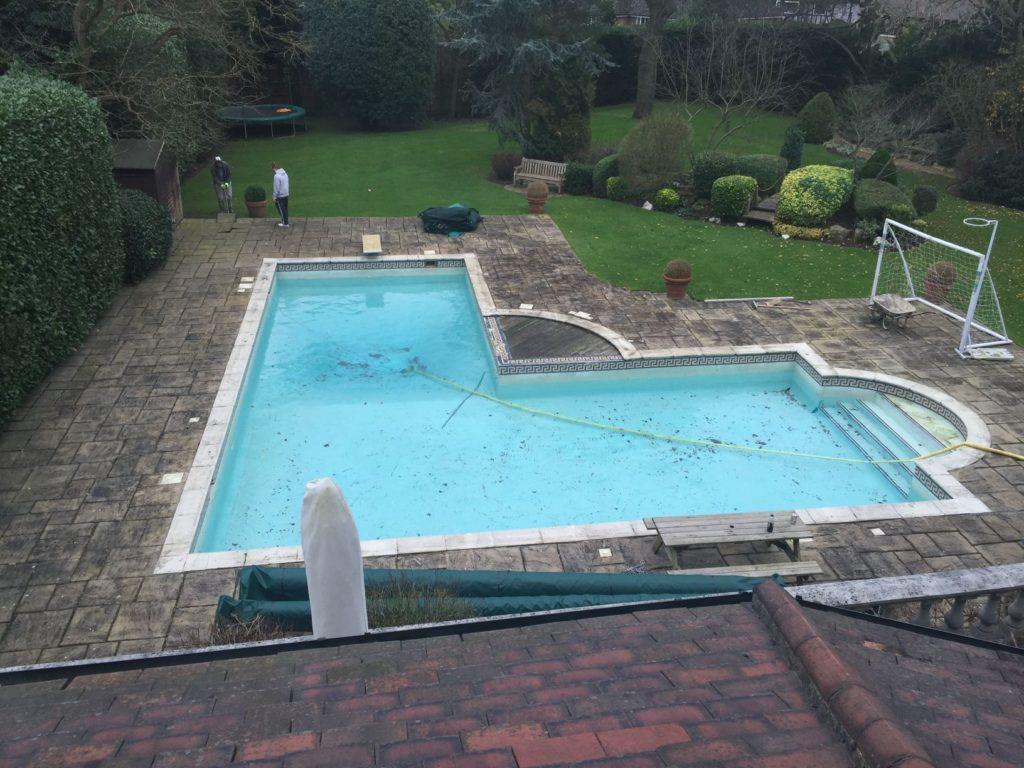 swimming pool refurbishment services in surrey