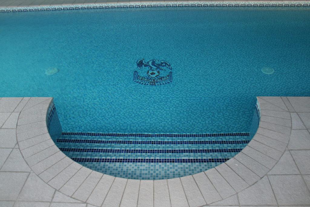 Crystal Palace Logo Mosaic Tile Pattern