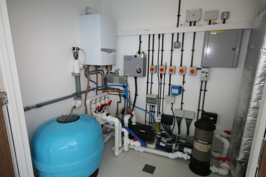 Indoor Pool Plant Room Design