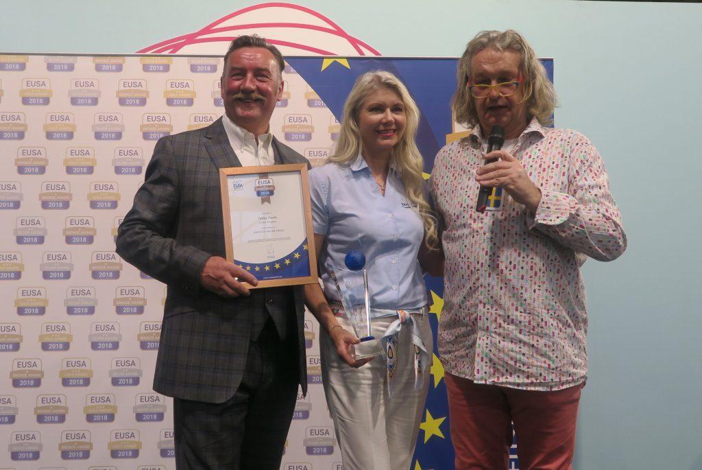 Martin & Delyse at EUSA