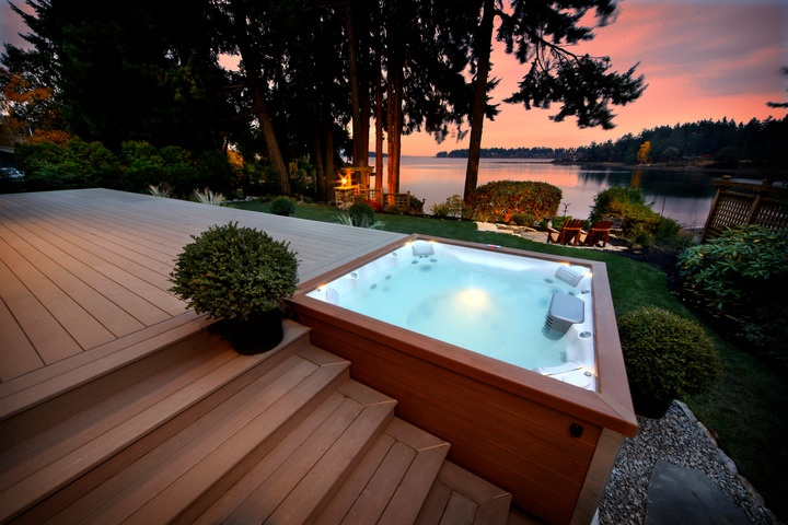 Jacuzzi in the outdoor